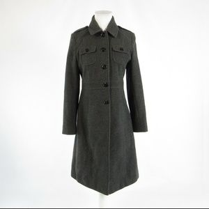 Kenneth Cole Reaction charcoal gray coat 6